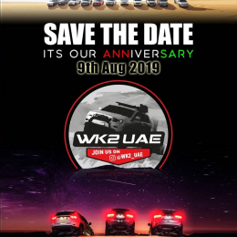 WK2 UAE Anniversary Meetup