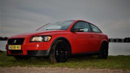 Volvo c30 red monste