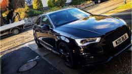 Aiden's car