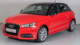 Audi A1 rood