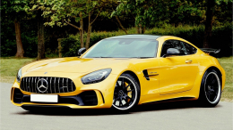 Mijn MB AMG GT C Coupe